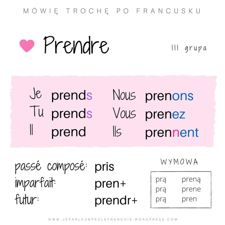 PRENDRE