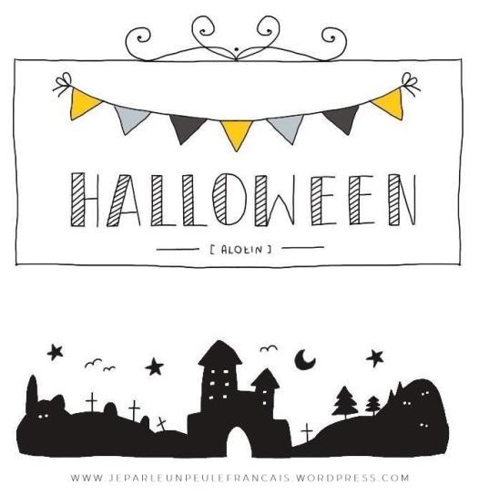 słówka tematyczne halloween francuski1